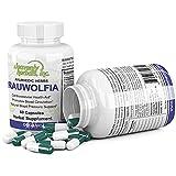 Rauwolfia Capsules, Organic Herbal Supplement –...