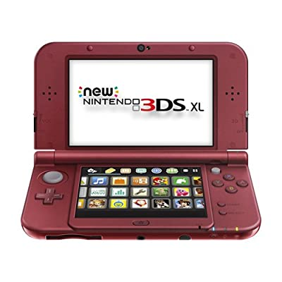 Nintendo New 3DS Xl - Red [Discontinued]
