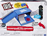 Tech Deck 6035884 Transforming SK8 Container Pro Modular Skatepark and Board, for Ages 6 and Up (Edition May Vary)
