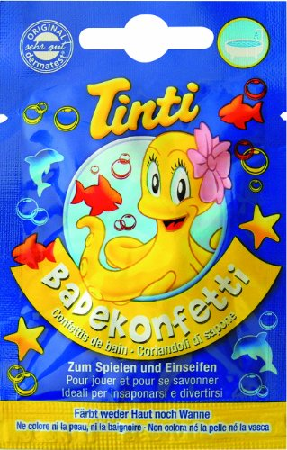 Tinti Confettis de Bain Sachets Individuels