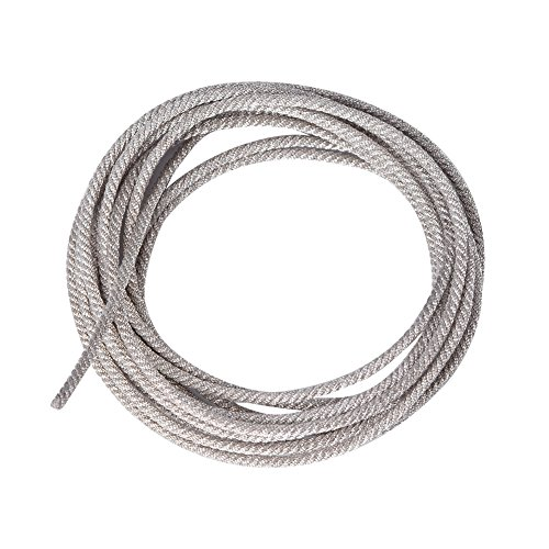 Zerone 32 strengen verzilverde luidsprekerdraad leidt hoge temperatuurbestendige gedraaid koper subwoofer draad kabel reparatie(2 meter)
