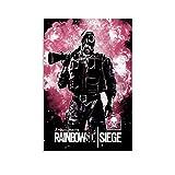 rongtao Rainbow Six Siege Smoke Poster, dekoratives
