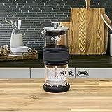 Mr. Coffee Manual Milk Frother, Glass Jar