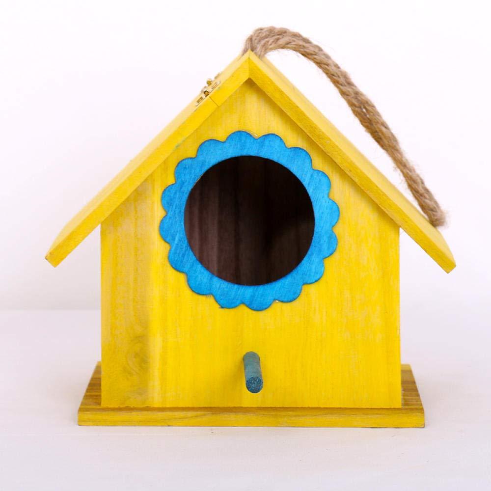 Tlwrnop Casas para Pájaros Nidos para Pájaros Casa De Pájaros Al Aire Libre Gorrión De Perlas
