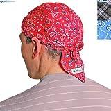 Bandana / pañuelo en la cabeza / pañuelo refrescante, unisex, rojo occidental, talla única