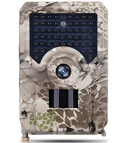 KTYX 1080p HD Cámara de Caza Detección de Movimiento Trail CAM por Rastro Infrarrojos Fáciles de Camara Fototrampeo de Juegos con Visión Nocturna Activada Camara Caza para Seguridad del Hogar