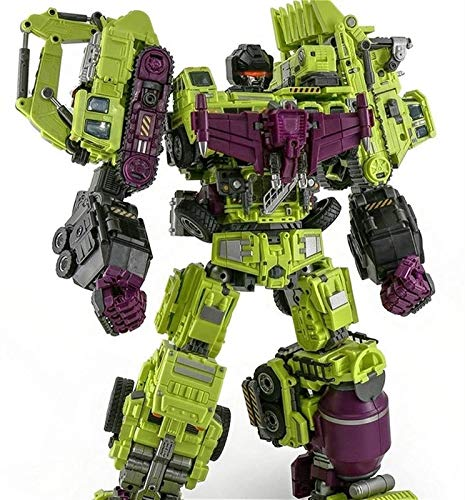 Optimus Prime Spielzeug Transformers Toys-Devastator Transformers Toy Decepticons Formule Transformers Juguetes seis en uno para niños para niños juguetes educativos o como decoraciones para su propia