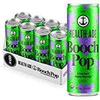 8-Pack Health-Ade Booch Pop, Grape, Healthy Soda