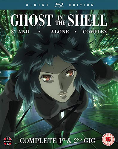 Ghost in the Shell: Stand Alone Complex Complete Series Collection - Blu-ray [Reino Unido] [Blu-ray]