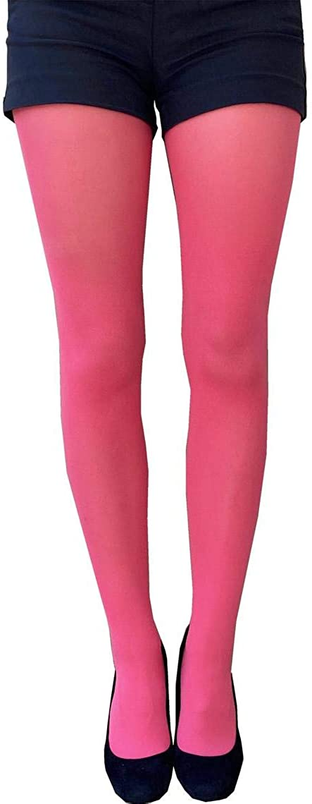 Coral Pink Tights Plus Size for women available from XL to5XL