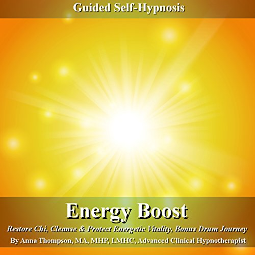 Energy Boost Guided Self Hypnosis audiobook cover art