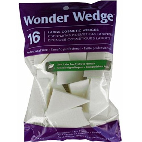 Wonder Wedge Cosmetic Wedge, Large 16 ea
