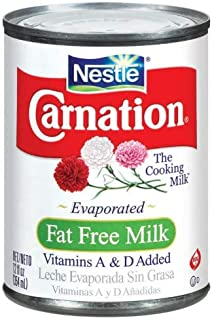 Carnation Fat Free Evaporated Milk (Pack of 2)