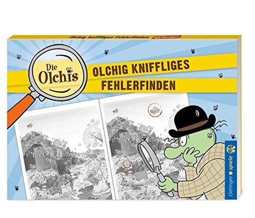 Die Olchis Blockspiel Olchig kniffliges Fehler finden