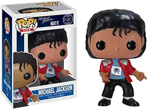 TIRIXEN FUNKO POP MICHAEL JACKSON VINYL FIGURINE 10 CM Art Souvenir Collectic Toy Anime Puppets Statues-Ré