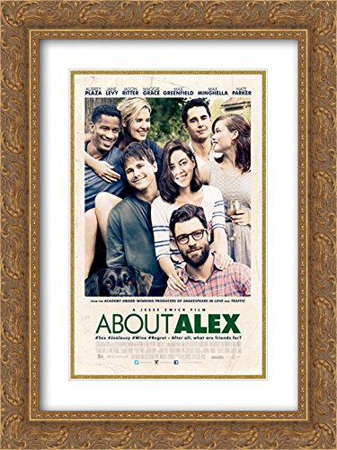 About Alex 18x24 Double Matted Gold Ornate Framed Movie Poster Art Print