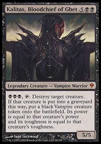 Magic: the Gathering - Kalitas, Bloodchief of Ghet (99) - Zendikar by Magic: the Gathering
