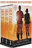Second Chance Protectors: Love, faith, and danger - Christian romance with suspense