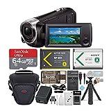 Sony HD Video Recording HDRCX405 HDR-CX405/B Handycam Camcorder (Black) + 64GB Premium Bundle