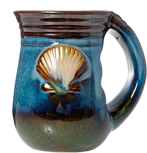 Seashell Stoneware Coffee Mug