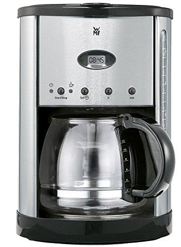 WMF Genio Glas Macchina da caffè con filtro 12tazze Metallico