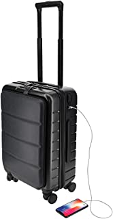 21 Inch Cabin Trolley Carry On Luggage Bag with 4 Spinner Wheels & Dual TSA Lock I Hard Shell Lightweight Overnight Suitca...