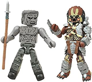Diamond Select Predator Minimates Series 1 Muddy Dutch & Battle Cry Predator 2