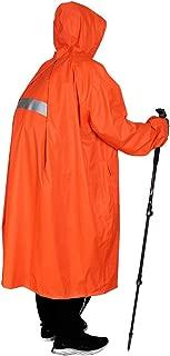 Anyoo Waterproof Rain Poncho Bike Bicycle Rain Coat Jacket Capes Lightweight Compact Reusable for Boys Men Women Adults
