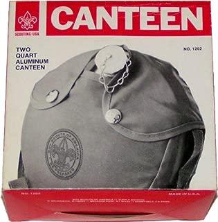 Vintage Official Boy Scouts Two Quart Aluminum Canteen No. 1202