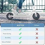 AGPTEK 2Pcs Pneu Plein pour Trottinette Electrique Xiaomi M365 avec 2 Leviers, Pneu de Remplacement...