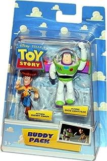 ACTION SHERIFF WOODY & FLYING BUZZ LIGHTYEAR Disney / Pixar TOY STORY Buddy Pack
