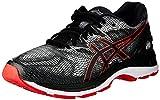 ASICS Gel-Nimbus 20, Chaussures de Running Homme, Noir (Black/Red Alert 002), 42.5 EU
