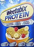 Weetabix protein original protein power cereales para el desayuno 1 x 440 g - desayuno de trigo integral del reino unido