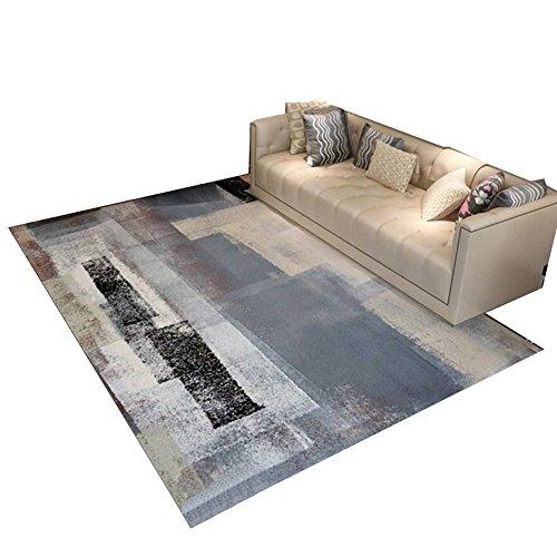 LiuJF Tapijt, schilderen, voor slaapkamer, woonkamer, thee, tapijt, trappen, hal, milieuvriendelijk, geen geur, tapijtlengte 120-140 cm 140 * 200CM C
