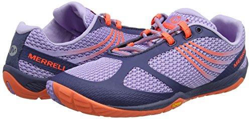 Merrell Women's Pace Glove 3 Trail Running Shoe, Crown Blue, 5 M US