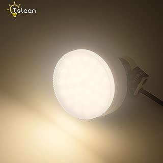 GX53 LED Light Bulb 9 Watts GX53 Ceiling Lamp for Cabinet, Exhibition, Showcase, Shop Showroom Warm White GX53 Spotlight