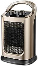 LYzpf Rápido Calentador de Ventilador Mini Cerámica Cómodo Aire Personal Portátil Calefactor Eléctrico Bajo Consumo de Energía para Habitación Oficina Baño