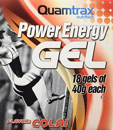 Quamtrax Power Energy Gel sabor Cola - 18 sobres