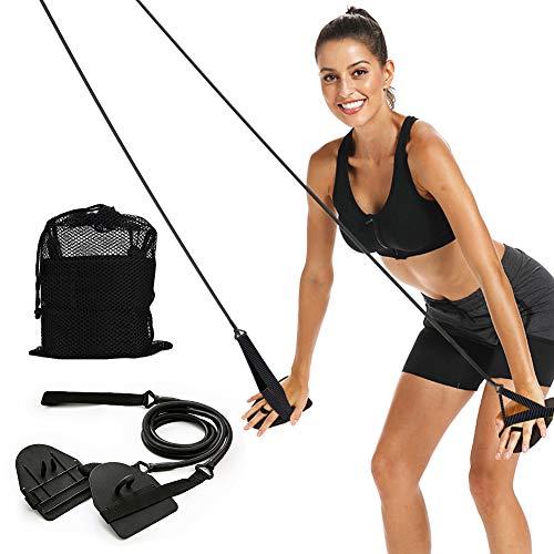 Dryland Powercord mit Paddeln, Fitnessbänder für Schwimmen und Arm, Fortgeschrittenes Set