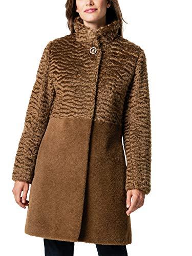 Walbusch Damen Alpaka Mantel Handwerkskunst einfarbig Vikunia 21