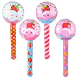 The Dreidel Company Large Cupcake Lollipop Inflate, 36