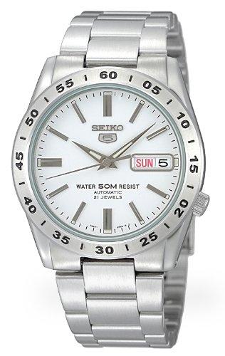 [セイコーインポート] 腕時計 セイコーimport SEIKO 5(セイコー ファイブ) オートマチック デイデイト SNKD97JC 逆輸入品 シルバー
