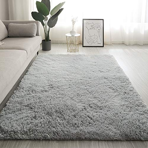 SAFAJINHH Flauschig Weich Falscher Fur Teppich Für Schlafzimmer Wohnzimmer Stuhl...