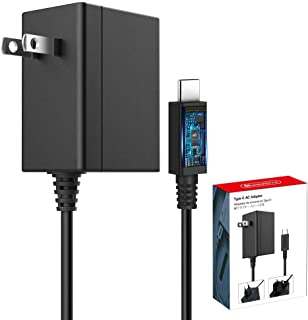 6amLifestyle Nintendo Switch用充電器 ACアダプター [ TVモード対応 ] PSE認証済 5V 1.5A/ 15V 2.6A PD 急速充電 ニンテンドースイッチ本体/Nintendo Switch Lite/Sw...