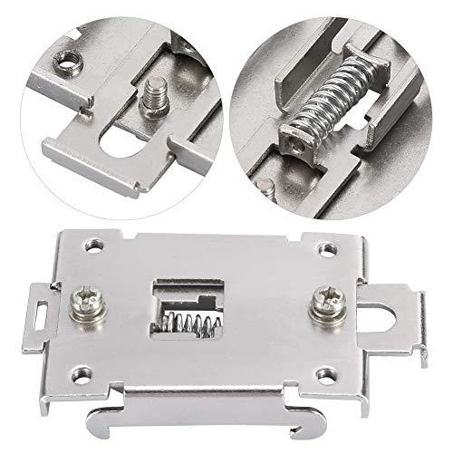 Kit de montaje en riel, soporte de montaje en riel DIN, 35 mm Durable para relé Relé de estado sólido monofásico
