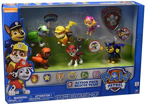 Nickelodeon Paw Patrol Exclusive 6-PK. Action Pups Set