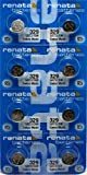 8 Pcs Mercury Free Silver Oxide 329 Batteries By Renata
