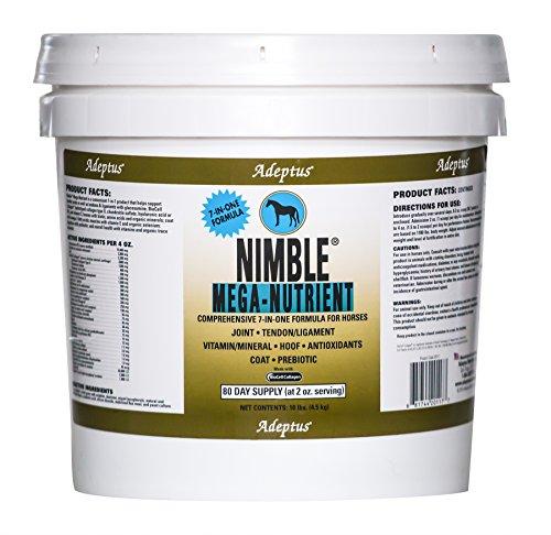 Adeptus Nutrition Nimble Mega Nutrient EQ Joint Supplements, 10 lb./10 x 10 x 10'