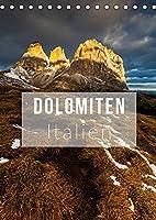 Dolomiten. Italien (Tischkalender 2022 DIN A5 hoch): Die herrlichsten Ansichten der Dolomiten (Monatskalender, 14 Seiten )