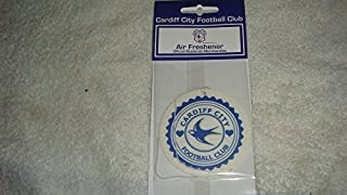 Official CARDIFF CITY FC crest shape air freshener